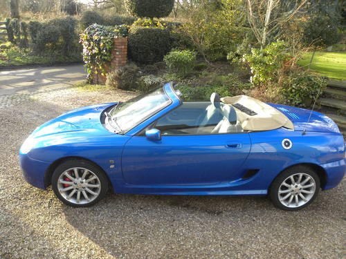 2003 MG TF 1.8cc..160bhp...53,000 miles. SOLD (picture 1 of 6)