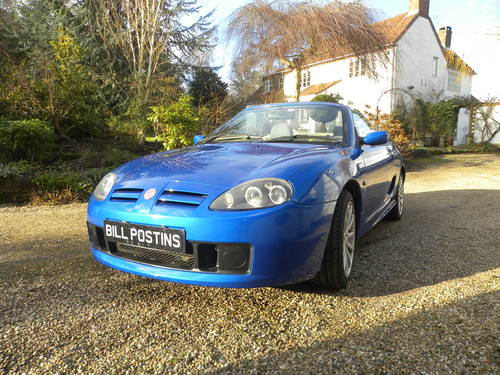 2003 MG TF 1.8cc..160bhp...53,000 miles. SOLD (picture 3 of 6)