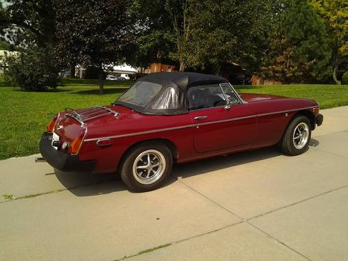 1980 MGB Convertible For Sale (picture 2 of 5)