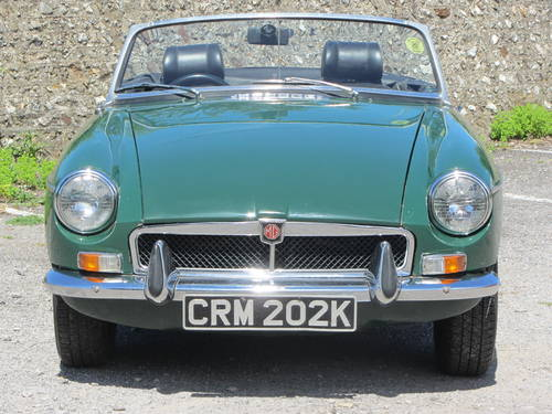 1971 MG B Roadster 36,000 miles from new, tax exempt SOLD (picture 1 of 6)