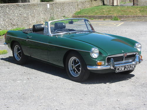1971 MG B Roadster 36,000 miles from new, tax exempt SOLD (picture 2 of 6)