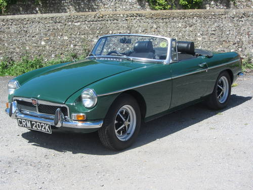 1971 MG B Roadster 36,000 miles from new, tax exempt SOLD (picture 3 of 6)