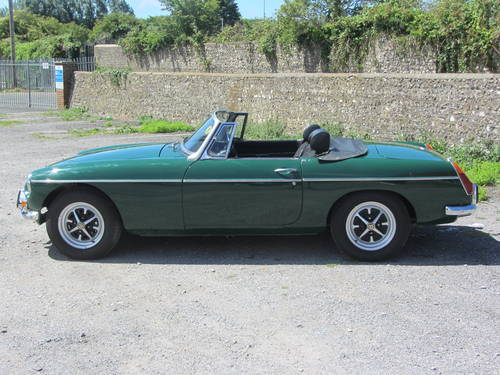 1971 MG B Roadster 36,000 miles from new, tax exempt SOLD (picture 5 of 6)