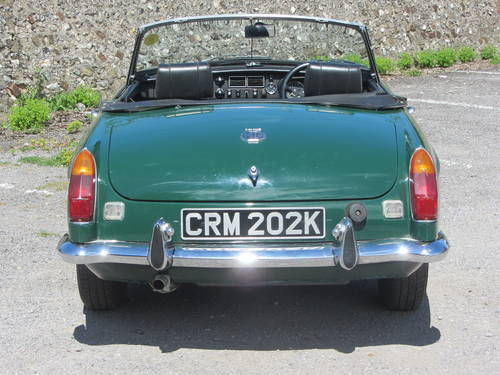 1971 MG B Roadster 36,000 miles from new, tax exempt SOLD (picture 6 of 6)