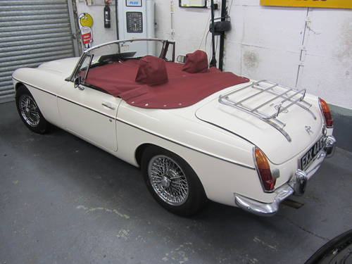 1969 MG C Roadster FOR SALE SOLD (picture 6 of 6)