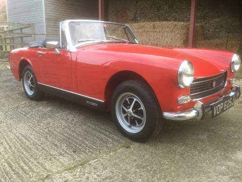 1970 MG Midget for sale by Mike Authers Classics NOW SOLD For Sale (picture 3 of 6)