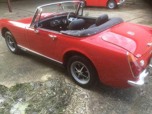 1970 MG Midget for sale by Mike Authers Classics NOW SOLD For Sale (picture 6 of 6)