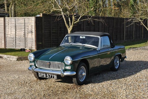 MG Midget Mk2 1964 SOLD (picture 2 of 6)