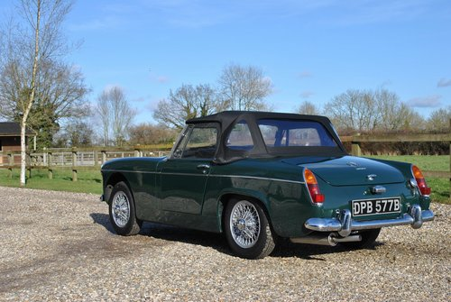 MG Midget Mk2 1964 SOLD (picture 3 of 6)