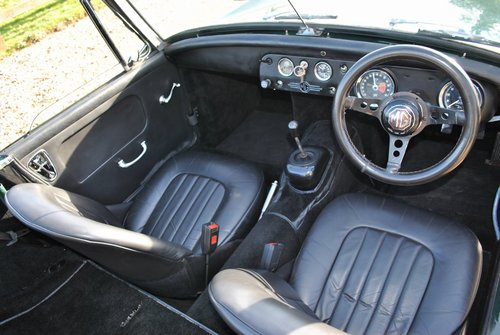 MG Midget Mk2 1964 SOLD (picture 4 of 6)