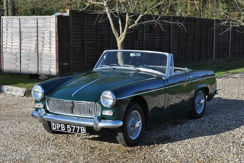 MG Midget Mk2 1964 SOLD (picture 5 of 6)