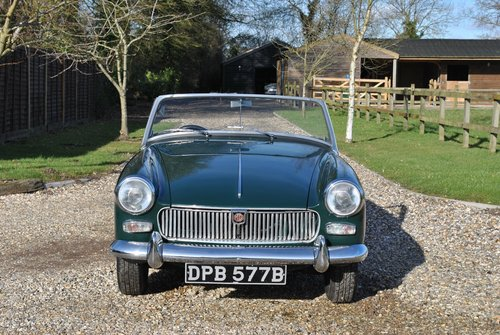 MG Midget Mk2 1964 SOLD (picture 6 of 6)