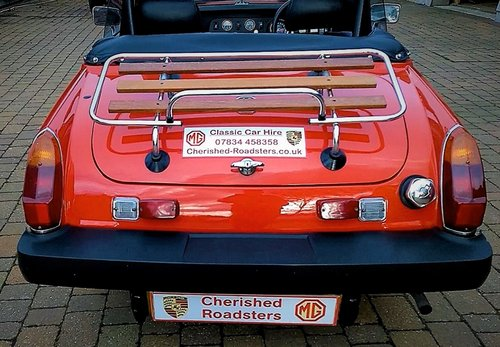 1978 Stunning Red MG Midget hire: Driver Experience Gift Vouchers For Sale (picture 6 of 6)