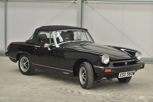1980 MG Midget 1500 - 14k miles, 1 family owner SOLD (picture 1 of 6)