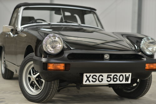 1980 MG Midget 1500 - 14k miles, 1 family owner SOLD (picture 2 of 6)