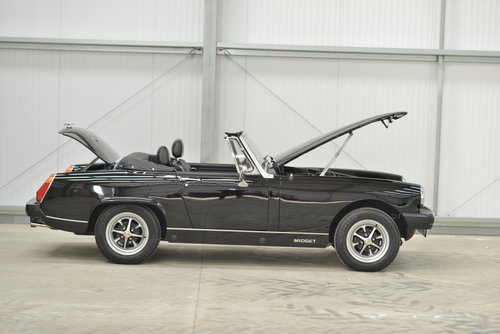 1980 MG Midget 1500 - 14k miles, 1 family owner SOLD (picture 3 of 6)