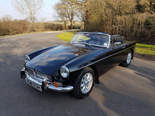 1970 MG MGB Roadster 2.0 Ltr, Overdrive, Alloys SOLD (picture 5 of 6)