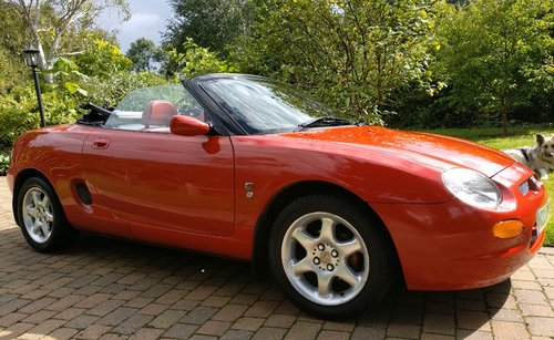 1995 Iconic Red MGF 1.8 VVC hire: Driver Experience Gift Vouchers For Sale (picture 2 of 6)