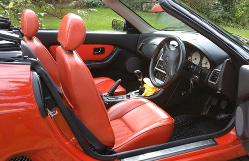 1995 Iconic Red MGF 1.8 VVC hire: Driver Experience Gift Vouchers For Sale (picture 4 of 6)
