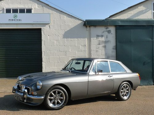 1974 MGB GT, Blingtastic! SOLD SOLD (picture 1 of 6)