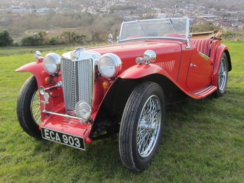 1947 MG TC for sale SOLD (picture 2 of 6)