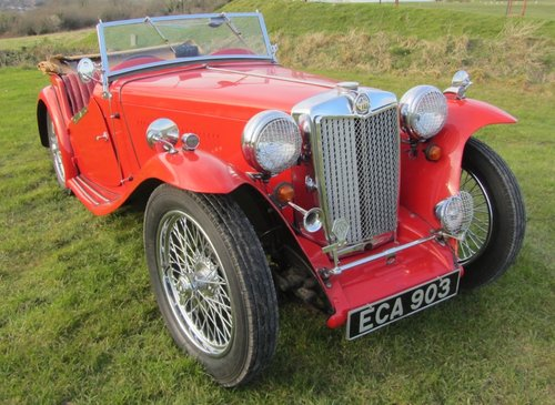 1947 MG TC for sale SOLD (picture 3 of 6)