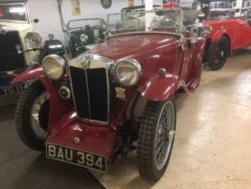 1935 MG PA Midget  SOLD (picture 1 of 6)