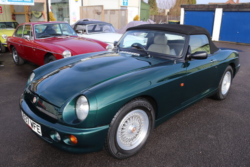 1993 MG RV8 , UK Car in BRG metallic. 31000 miles SOLD (picture 1 of 6)