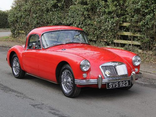 1957 MG A 1500 Coupe For Sale (picture 1 of 6)