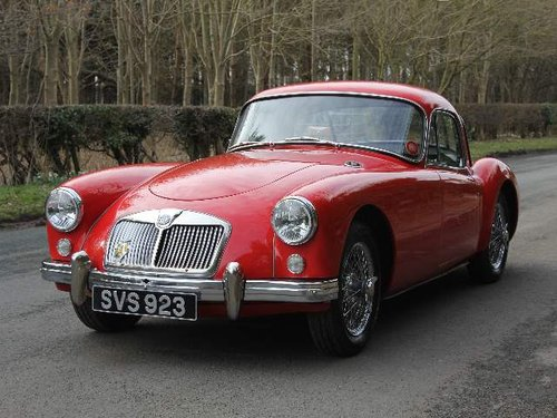 1957 MG A 1500 Coupe For Sale (picture 2 of 6)