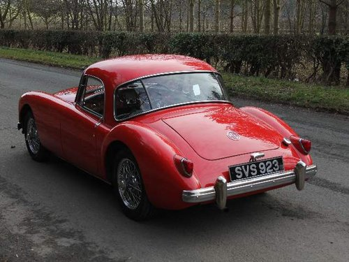 1957 MG A 1500 Coupe For Sale (picture 3 of 6)