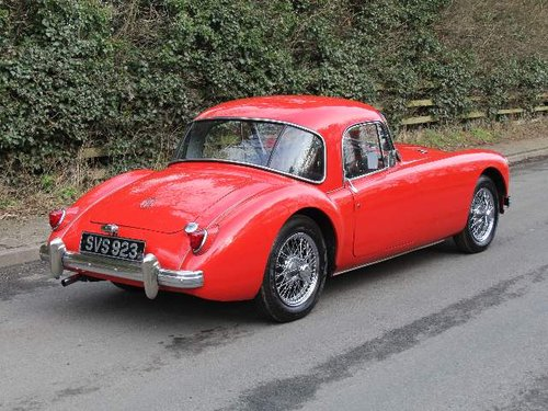 1957 MG A 1500 Coupe For Sale (picture 4 of 6)