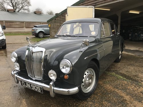 RESERVED 1958 Magnette ZB for sale in Hampshire  SOLD (picture 6 of 6)
