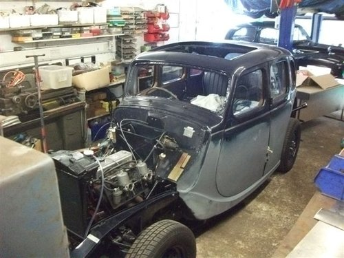 1953 MG YB saloon, £££'s spent, easy project to finish SOLD (picture 4 of 6)