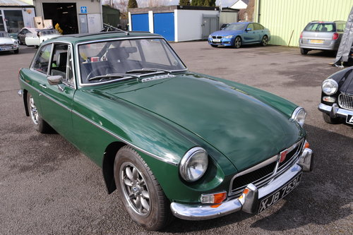 1972 MGB GT , fully rebuilt with upgrades SOLD (picture 1 of 6)