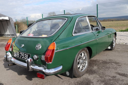1972 MGB GT , fully rebuilt with upgrades SOLD (picture 5 of 6)