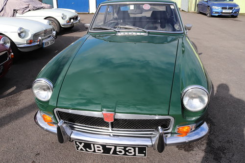 1972 MGB GT , fully rebuilt with upgrades SOLD (picture 6 of 6)