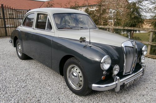 Porsche Parts Uk >> 1958 MG Magnette ZB Varitone For Sale   Car And Classic