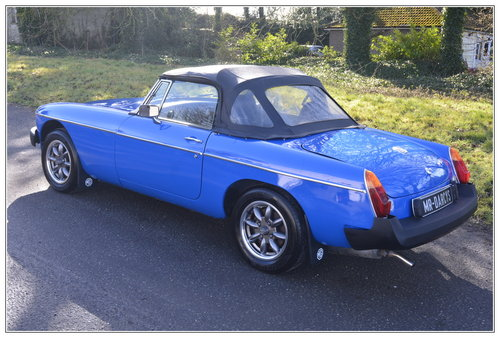 1977 MGB Roadster for sale SOLD (picture 2 of 6)