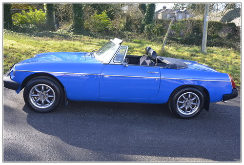 1977 MGB Roadster for sale SOLD (picture 5 of 6)
