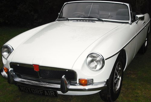 1972 MGB ROADSTER,OVERDRIVE,4 OWNERS,SERVICE HISTORY, For Sale (picture 1 of 6)