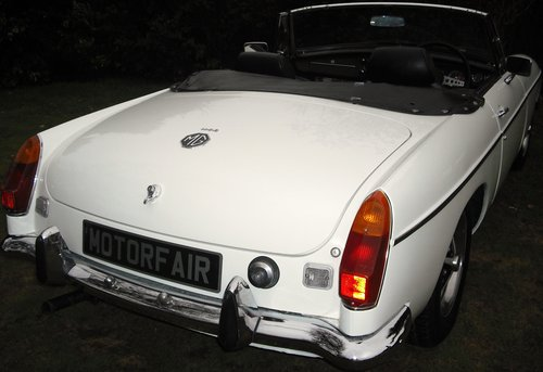 1972 MGB ROADSTER,OVERDRIVE,4 OWNERS,SERVICE HISTORY, For Sale (picture 3 of 6)