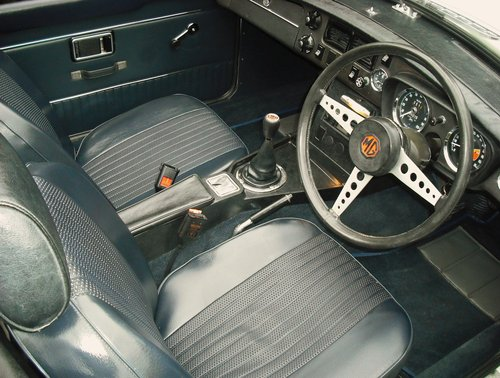 1972 MGB ROADSTER,OVERDRIVE,4 OWNERS,SERVICE HISTORY, For Sale (picture 4 of 6)