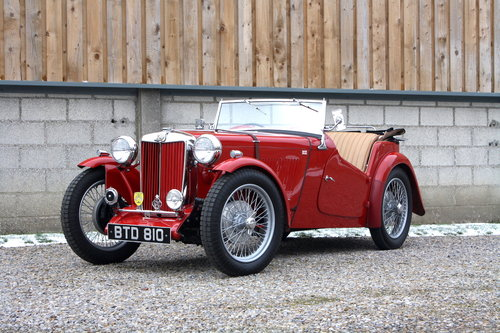 1936 MG TA **NOW SOLD** For Sale (picture 1 of 6)