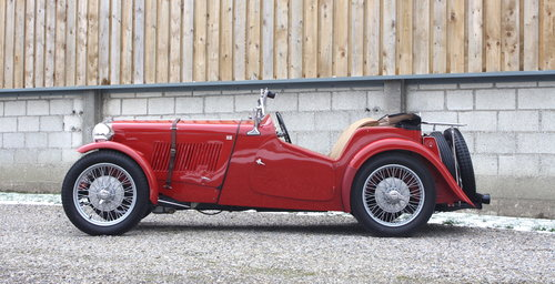 1936 MG TA **NOW SOLD** For Sale (picture 2 of 6)