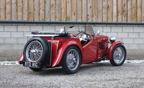 1936 MG TA **NOW SOLD** For Sale (picture 3 of 6)