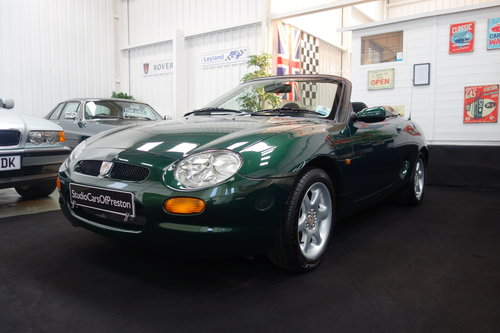 2004 1999 MGF 1.8 32'000 miles Excellent condition BRG SOLD (picture 1 of 6)