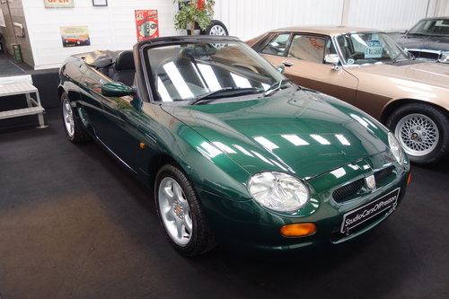 2004 1999 MGF 1.8 32'000 miles Excellent condition BRG SOLD (picture 3 of 6)
