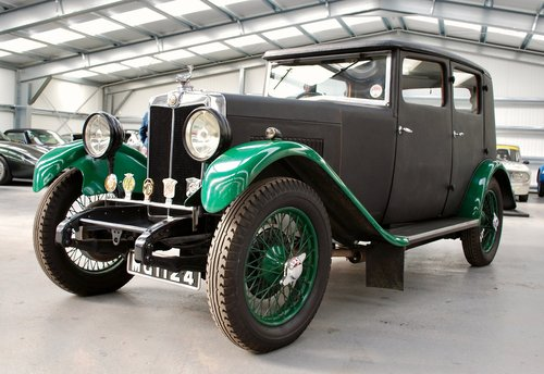 1931 MG 18/80 WITH ONLY FOUR OWNERS FROM NEW For Sale (picture 1 of 6)
