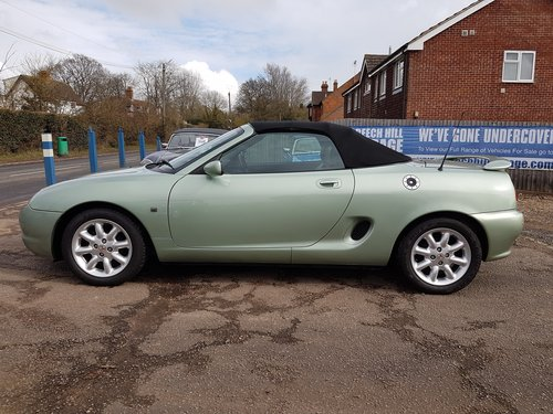 2001 MGF 1.8 Alumina green very low mileage, excellent SOLD (picture 5 of 6)
